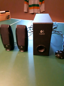Logitech Computer speakers and Sub woofer
