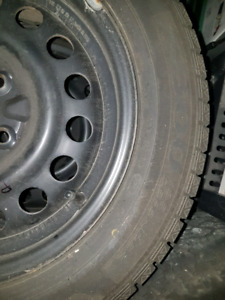 4 winter tires rims included 185/65 R15