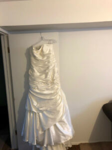 Alfred Angelo Satin Bridal Gown
