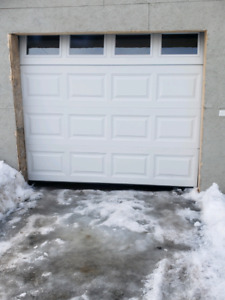 Garage door only 4 months @, havent fully finished installation