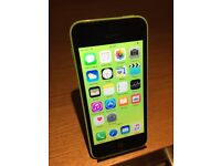 Apple iPhone 5 GREEN 5C Mint Condition O2/Tesco