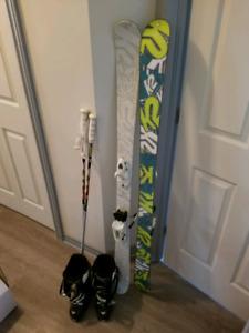 Ski Twin tip K2 Silencer 149cm