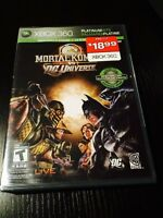 Xbox 360 Mortal Kombat vs DC (never opened)