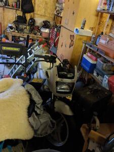 Kawasaki Ex500 (parts bike)