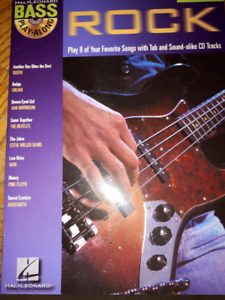 Bass play-along book