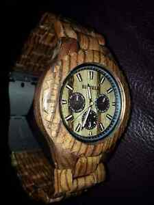 Men's wooden watch Windsor Region Ontario image 2