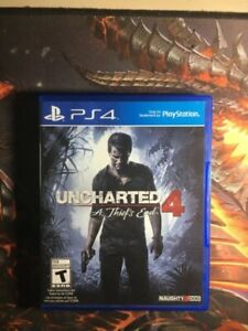 USED UNCHARTED 4 PS4