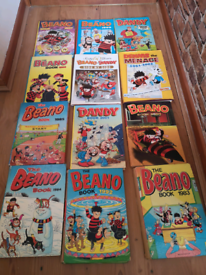 Beano and Dandy Albums and comics