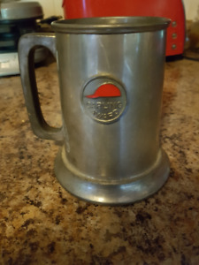 Vintage Carling Red Cap Award Pewter Mug