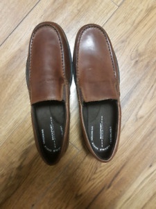 Rockport Size 11 Brown Dress Shoes
