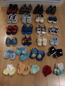 Petite botte, soulier Geox,Ecco, gougoune et pantoufle pour bébé