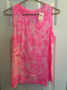 NEW GIRLS JUSTICE TANK TOP (Pink) 20 Plus