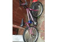 Pink Bike for sale