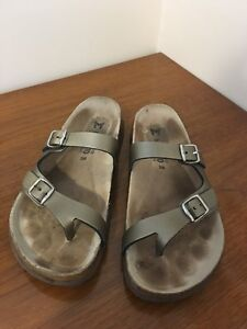 Women's Size 8, Mephisto Leather Sandals