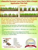 Fall Aeration & Overseeding! (Lawn Care)