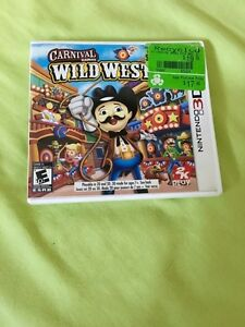 Carnival Games Wild West for Nintendo 2DS/3DS
