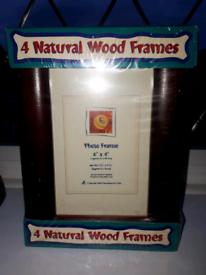 """6"""" x 4"""" wooden frame x 4"""