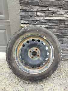 Pace Mark Snowtrakker ST/2 Snow Tires and Rims - 205 / 55 R16