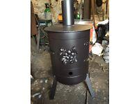 Log/coal burner
