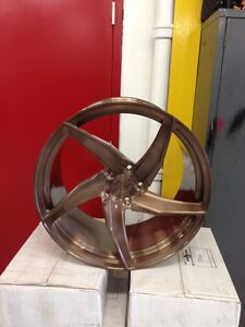 ROSE GOLD VELO RIMS - NEVER USED - PORSCHE PANEMERA