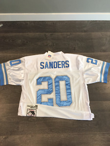 NFL Detroit Lions Barry Sanders 1996 throwback jersey size 48