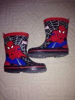 Spiderman rain boots