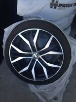 "18"" VW rep rims with tires"