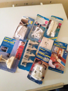 Safety 1st/Gerber Safety Latches and outlet covers