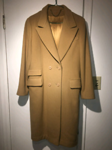 Women's Virgin Wool Winter Coat
