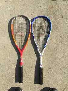 TWO Karakal Squash Rackets- XL-TEC 150 Windsor Region Ontario image 1