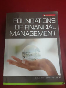 Selling Foundations of Financial Management - 11th edition