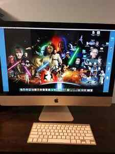 iMac - 27 inch, 8gig RAM, 1TB Hd, wireless keyboard