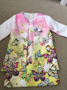 NEW 3T silk dress and jacket
