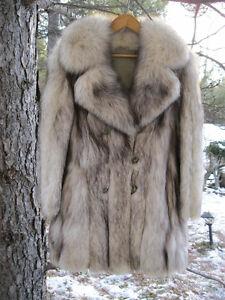 Reduced-   Women's Silver Fox Coat