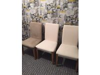 IKEA chairs very good condition