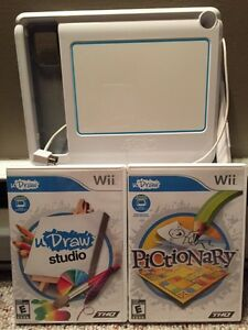 uDraw Game Tablet with 2 games