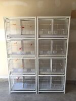 Breeding Cages for Siskin, Canaries.