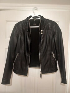 Rudsak M leather jacket | manteau de cuir