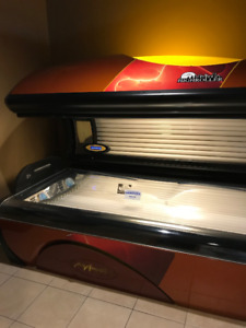 TANNING BED PACKAGE FOR SALE 70% OFF THE PRICE OF NEW!