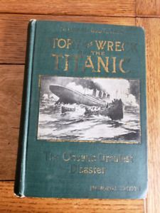 Story of the Wreck of the Titanic  book