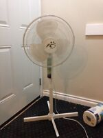 Stand up 3 speed fan