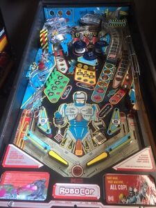 Robocop pinball machine