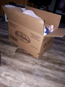 Box of Baby Girl clothing 6-9months