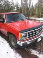 1992 chevy parts truck