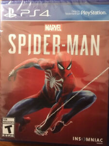 Spiderman (Sealed) PS4 $45