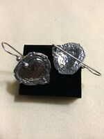 Sterling Silver .925 Heart earrings