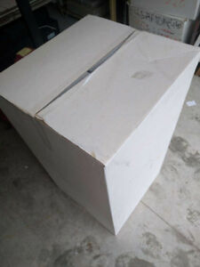 "Moving Boxes-new,white in/out 17x18x33"",brown 12x18x6"", 12x28x6"""