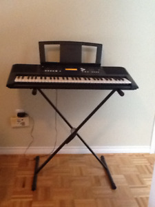 Yamaha PSR-E333 Electric Keyboard (with fully adjustable stand)