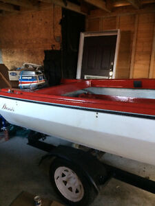 Trade my boat, motor and trailer for snowmobile or quad !! St. John's Newfoundland image 2