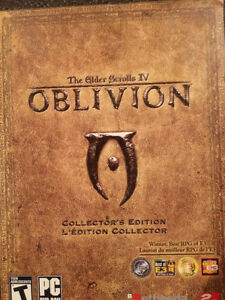 Elder Scrolls IV Oblivion Collector Edition PC